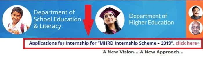 How to fill MHRD Internship form